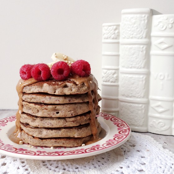 Vegan_Gingerbread_Buckwheat_Pancakes