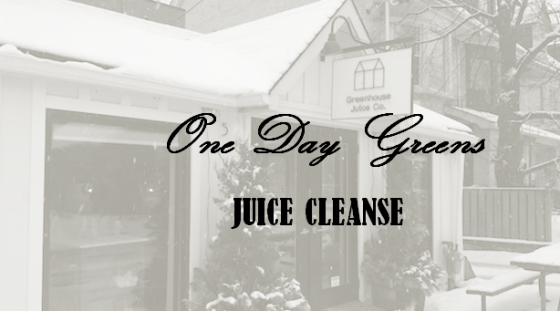 GREENHOUSE JUICE CLEANSE