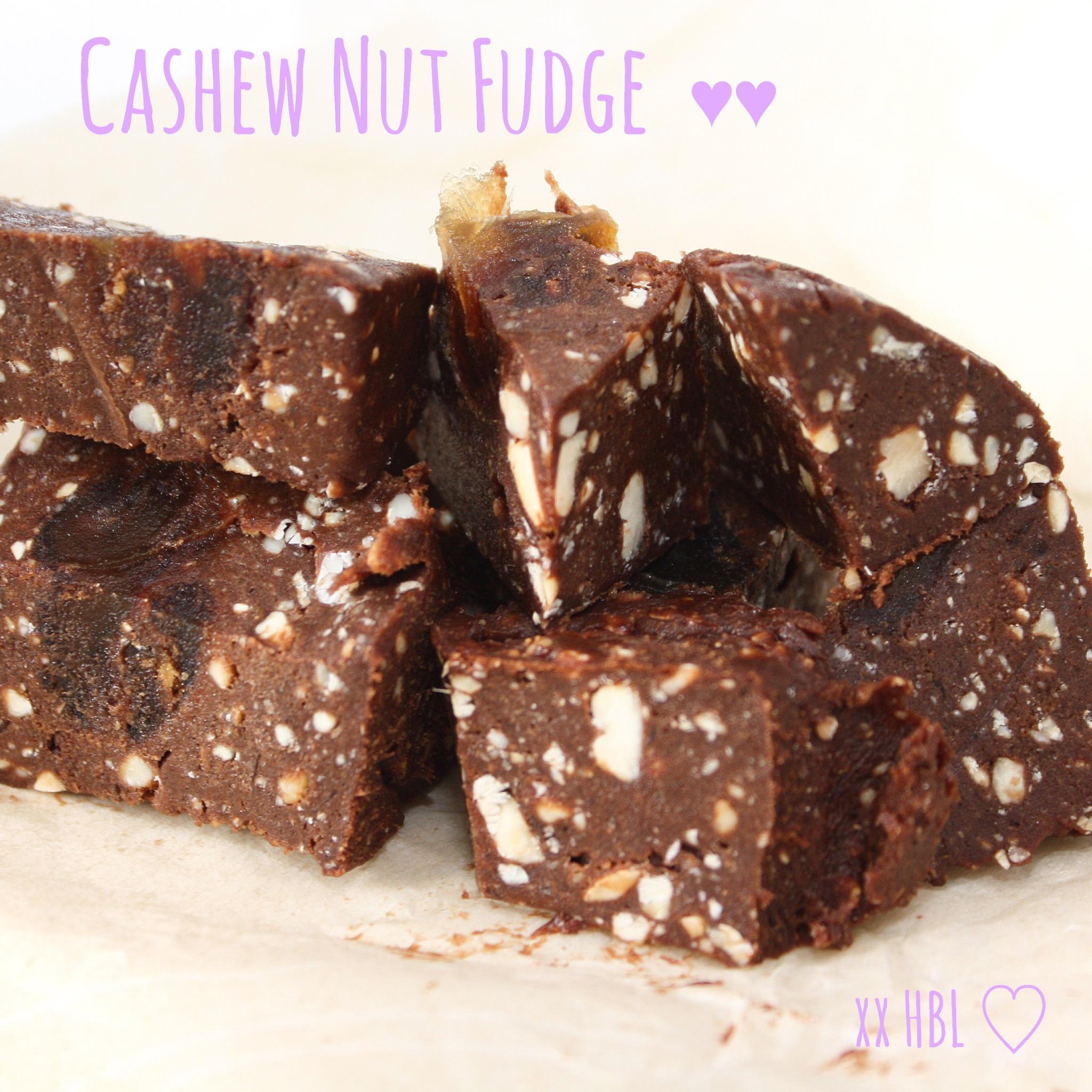 Cashew Nut Fudge