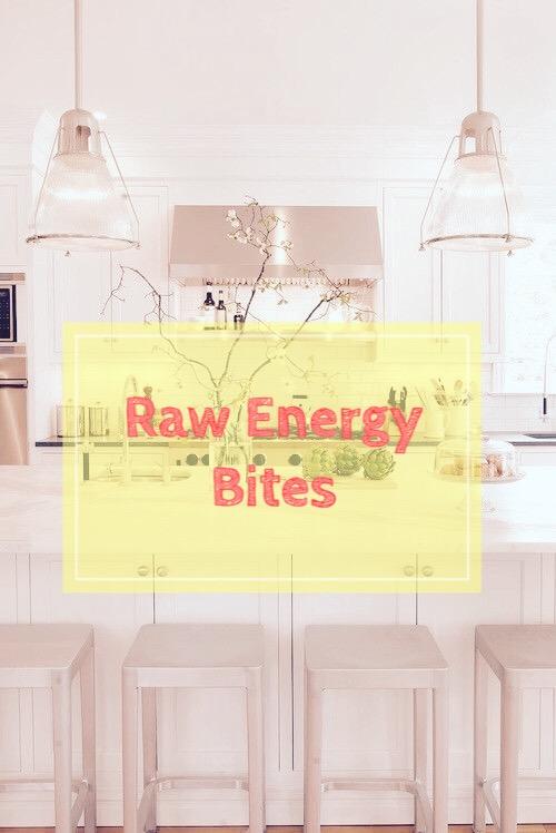 Summer Series: Raw Energy Bites